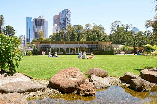 Stormwater Capture and Reuse at Fitzroy Gardens