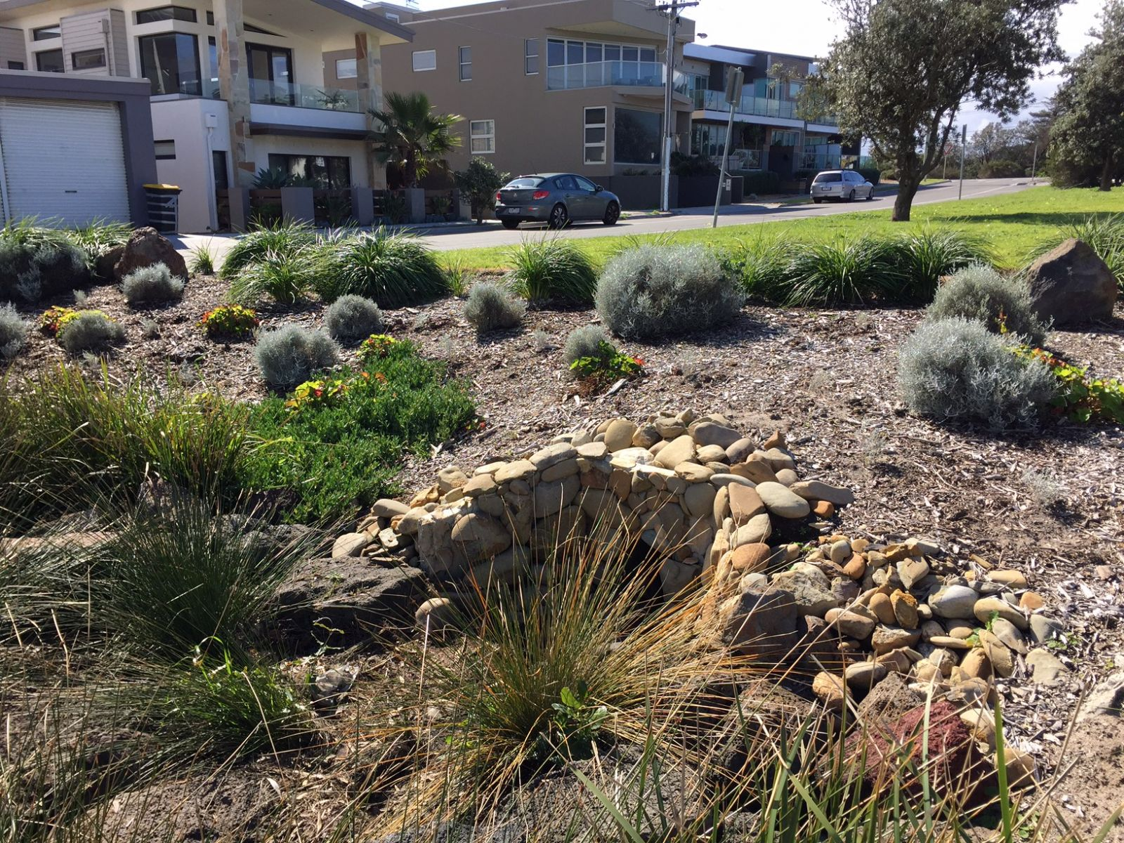 Streetscape for stormwater management